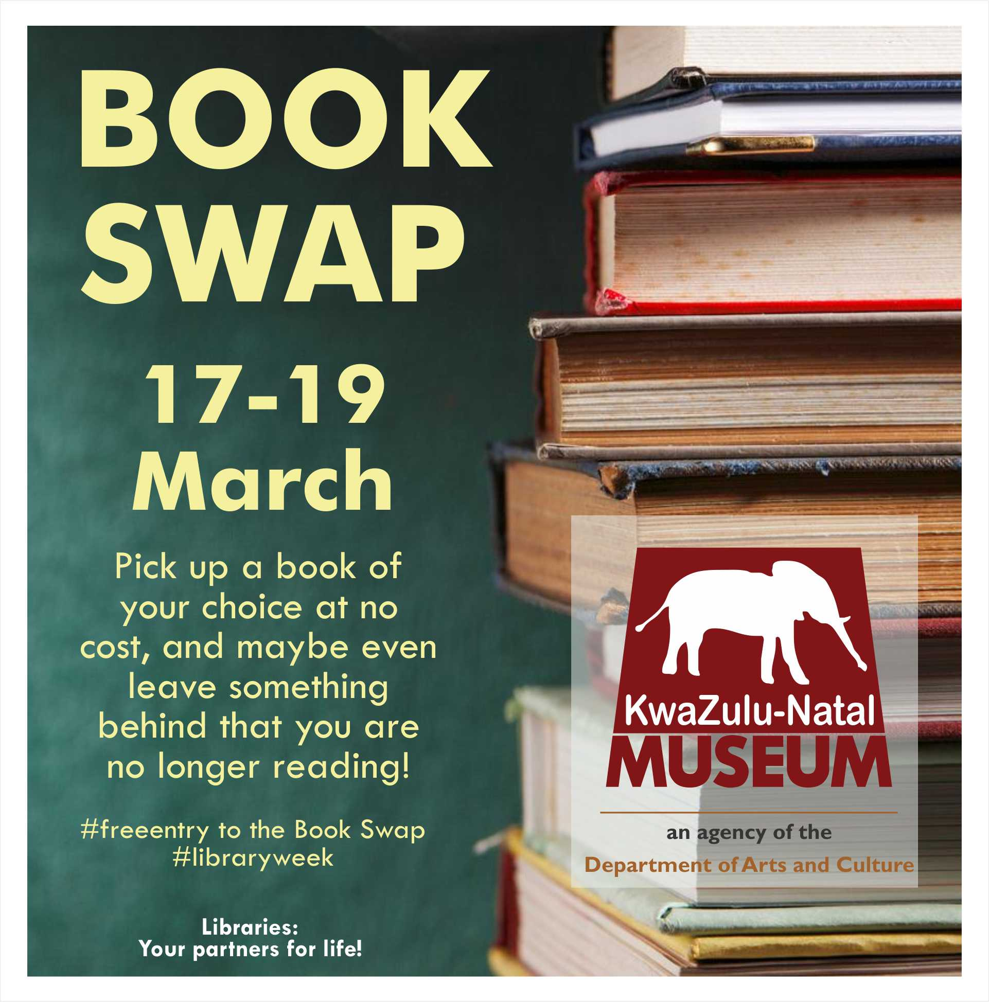 Book swap advert