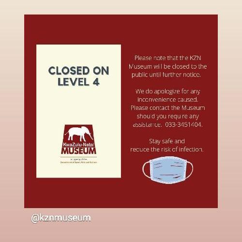 Museum closed temporarily